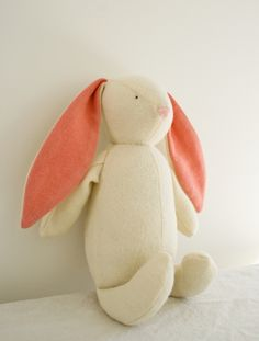 Gorgeous woolen rabbit - Tutorial