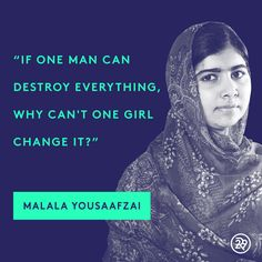 Happy birthday, Malala!