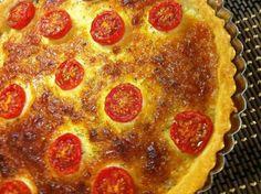 tarta de queso y tomates cherry ¿Te lo vas a Perder?