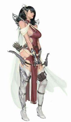 Concept art female elves 57 new Ideas Female Character Design, Character Design Inspiration, Character Art, Fantasy Art Women, Fantasy Girl, Fantasy Characters, Female Characters, Fantasy Female Warrior, Female Elf