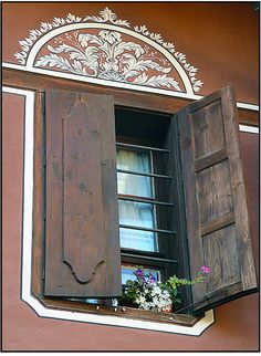 A window in Bulgaria. Not unlike the window that the chocolate cream soldier climbed into. (Ignore the metal bars…) Bulgaria, What A Beautiful World, Metal Bar, Window Boxes, Architecture Details, Amazing Architecture, Eastern Europe, Windows And Doors, Wonderful Places
