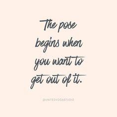 #yoga #yogainspiration The Pose Begins.... More