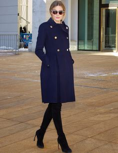 THE OLIVIA PALERMO LOOKBOOK: Olivia Palermo At New York Fashion Week: Dennis Basso