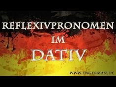 Deutsche Grammatik | Sprechtraining A1-C1 - YouTube Dativ Deutsch, German, Neon Signs, Youtube, Movie Posters, German Grammar, German Language Learning, Deutsch, German Language