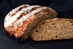 Ploughman's Loaf ...substantial bread with pockets of cheese-y bits and crunchy grain