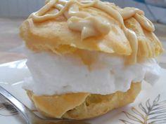 NapadyNavody.sk | Najlepšie veterníky z odpaľovaného cesta Desert Recipes, Pudding, Pie, Sweet, Food, Torte, Candy, Cake, Custard Pudding