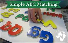 Simple ABC Matching Activity | 3 Dinosaurs
