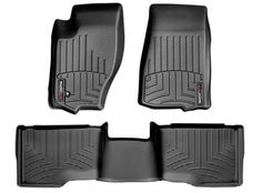 Weathertech Floor Liners for the Jeep Grand Cherokee. 2 front. 1 piece rear. Black, Gray, or Tan.