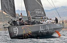 Abu Dhabi Ocean Racing branded Farr 30