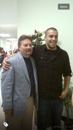 andrew with donnie swaggart