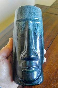 Moai Tiki Mug/ Beauce Pottery 1952/Rare