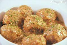 Albondigas con salsa de almendras