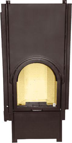 Wkład kominkowy Smart 1VRh moc grzewcza 7.5 kW  #fireplace #fireside #kominek #piecyk #ogrzewanie