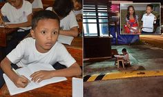 The full story of Filipino boy, 9, who does his homework on the street