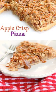 Apple Crisp Pizza...yum! & more