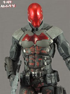 THE ALLEY: DC COLLECTIBLES BATMAN ARKHAM KNIGHT RED HOOD FIGURE GALLERY