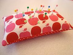 beginners sewing project - pincushion
