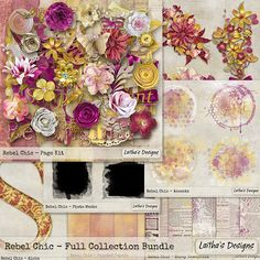 collection Rebel Chic by Laitha's Designs http://www.laitha.com/store/product.php?productid=1965&cat=&page=