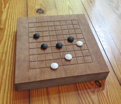 Goban game Go board 9 by 9 grid with playing by LastingWoods
