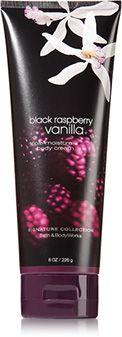 Black Raspberry Vanilla Triple Moisture Body Cream - Signature Collection - Bath & Body Works