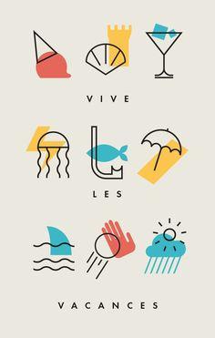Summer Holidays on Behance: