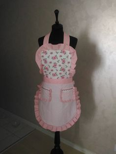 Apron by DelphiniumCreations on Etsy