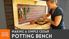 Diy Projects Videos, Raised Garden Beds, Metal Working, Bench, Woodworking Plans, The Creator, Simple, How To Make, Youtube