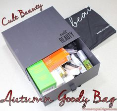 Here are the contents of the Cult Classics Autumn VIP Beauty Goody Bag, a seasonal GWP that ships worldwide.