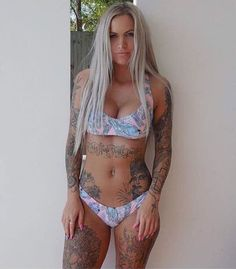 Follow @tattooed_icandy for all the #hottest #tattooed #icandy  Babe: braady by the_tattoo_insta