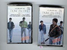 Estas fueron las primeras cintas de cassette que tuve (con unos 6 años...) Casablanca, Duncan Dhu, Cassette, Baseball Cards, Cover, Cassette Tape, Infancy, Ribbons