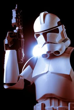 Clone Trooper in Phase II Armor, photo taken by me.
