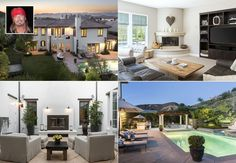 """""""Poison"""" lead vocalist Bret Michaels has listed his mansion in Calabasas, California, for $3.65 million while on tour for his new solo album """"True Grit."""" The 6,797-square-foot home in Los Angeles County features five bedrooms, six bathrooms, a wine cellar - plus a living room decked out in guitars and a grand piano"""