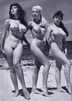 naked amateur group vintage