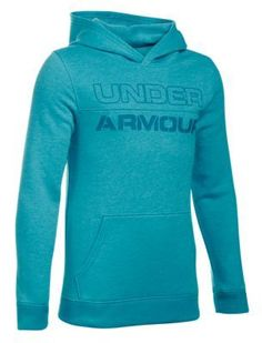 Under Armour Sportstyle Fleece Hoodie for Boys - Pacific - XL