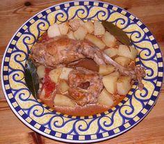 Ragoût de lapin à la maltaise