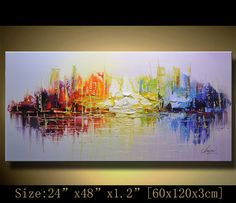 Original Abstract Painting Modern Textured Painting by xiangwuchen