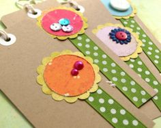 Flower Tags - Sunny Patch
