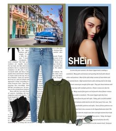"""SHEin"" by hristinab ❤ liked on Polyvore featuring Givenchy and Ray-Ban"