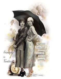 """""""""""Friends Weather the Storm Together"""" #25 ~ BEST FRIENDS Doll"""" by ellen-hilart ❤ liked on Polyvore"""