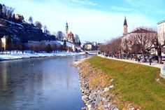 Salzburg Blick auf die Salzach Innsbruck, Europe, Salzburg, Ski Resorts, Ski, Travel Advice, City, Viajes