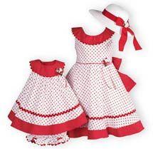 Polka Dot Twirl - Sunday Best Dress for Girls and Boys.
