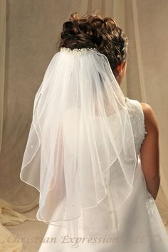 communion veils | First Communion Veils-Lauren