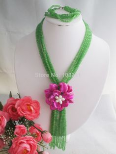 Free Shipping !!!W-1395 Splendid African Beaded Crystal Jewelry Set African Agate Beads Jewelry Set for Wedding 2014 NEW $58.69