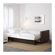 IKEA - FRIHETEN, 3-zits slaapbank, Bomstad zwart, , Eenvoudig te veranderen in…