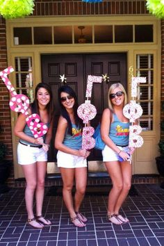 gamma phi beta | sorority sugar. Awesome chapter notifiers on bid day!