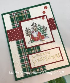 Try Stampin' On Tuesday: Top 3 Challenge 423 – snowglobe Homemade Christmas Cards, Christmas Cards To Make, Xmas Cards, Handmade Christmas, Homemade Cards, Holiday Cards, Stampin Up Christmas 2018, Prim Christmas, Noel Gallagher