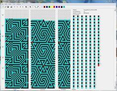 Треугольники : геометрия : формат dbb и jbb : Схемы для вязаных жгутов : Файлы : jbead