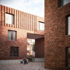 Leaf Street housing, Manchester by Mecanoo