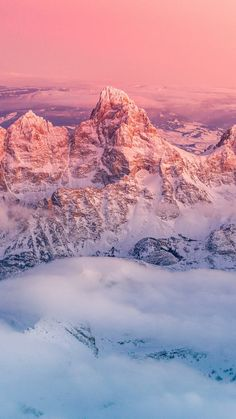 Grand Teton National Park - Tap to see more incredibly beautiful aerial wallpapers! - @mobile9