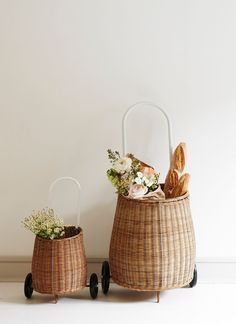 Mama Size wicker Luggy – Natural